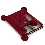 UGG® Grace Reversible Throw in Redwood