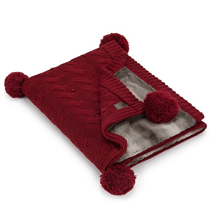 Ugg 174 Grace Reversible Throw In Redwood Bed Bath And