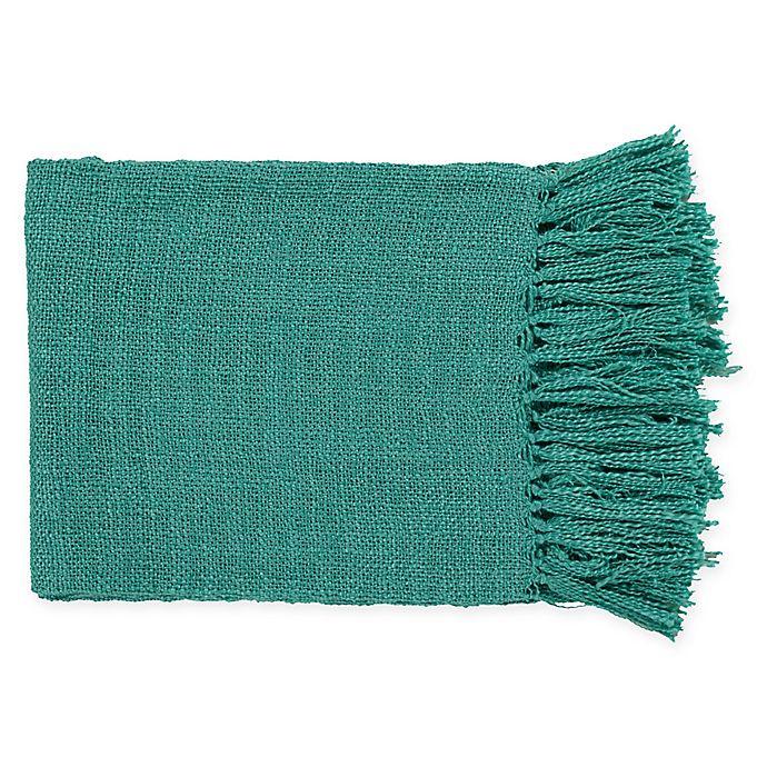 Alternate image 1 for Surya Tilda Throw Blanket