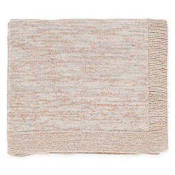 Surya Tremolo Throw Blanket in Cream/Light Grey