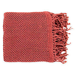 Surya Tibey Throw Blanket in Rose