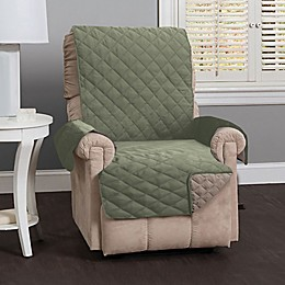Great Bay Home Kaylee Reversible Quilted Recliner Cover