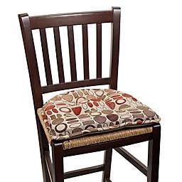 Klear Vu Tufted Corona Gripper® Chair Pad in Green