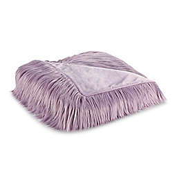 Flokati Faux Fur Throw Blanket