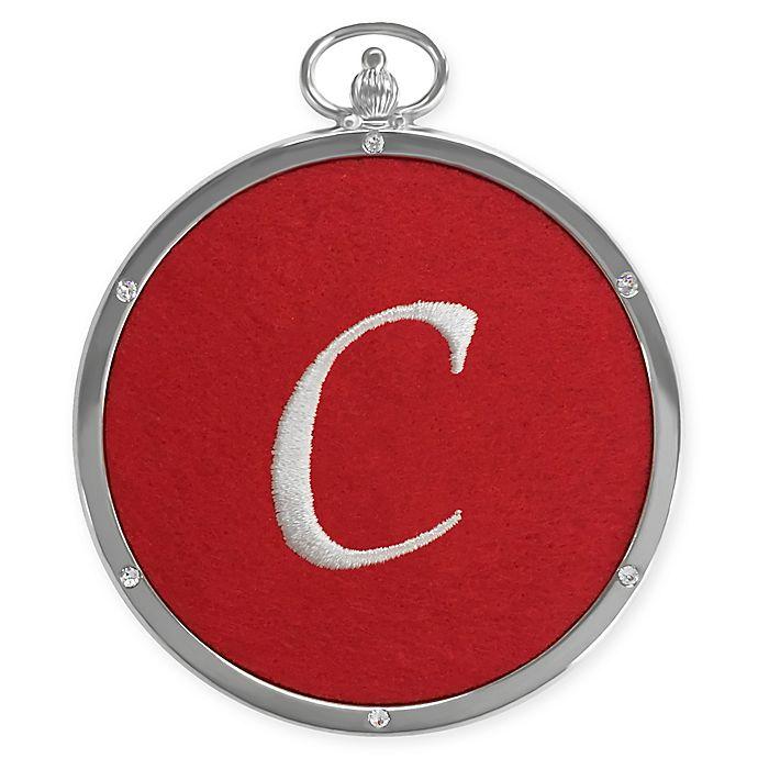 Alternate image 1 for Crystals from Swarovski® Harvey Lewis™ Monogram Letter \