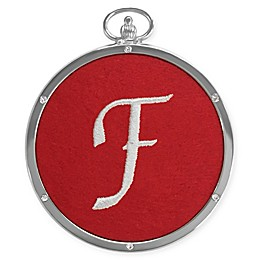 Crystals from Swarovski® Harvey Lewis™ Monogram Letter  Ornament