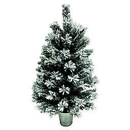 Christmas Trees Tree Height 4 Ft Shorter Needle Type Flocked
