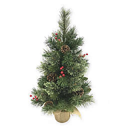 Pine Mixed Tip 2-Foot Artificial Christmas Tree