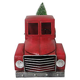 24 inch lighted metal truck in multicolor