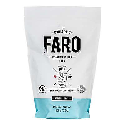 FARO Roasting Houses 2 lb. Gourmet Classic July 25 Whole Bean Coffee