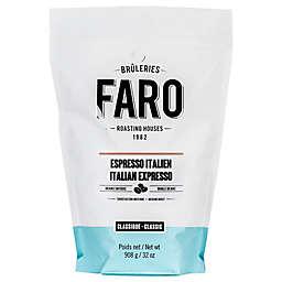 FARO Roasting Houses 2 lb. Italian Espresso Whole Bean Coffee