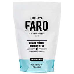 FARO Roasting Houses 2 lb. Roaster's Blend Fine Grind Whole Bean Coffee