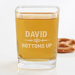 Raise Your Glass To... Personalized Shot Glass