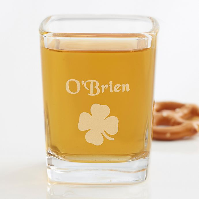 Alternate image 1 for Irish Heritage Personalized Shot Glass