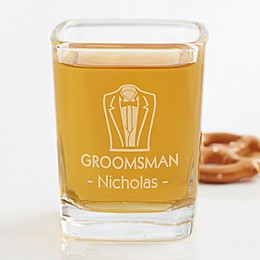 Wedding Party Personalized Shot Glass