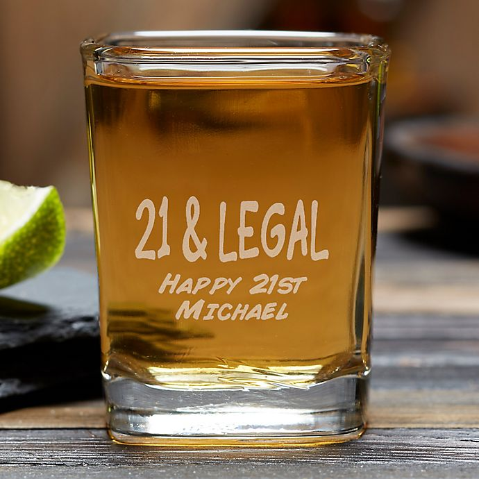 Alternate image 1 for You're #1 Personalized Shot Glass
