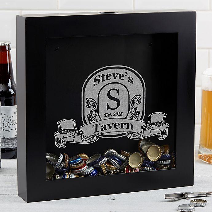 Alternate image 1 for Vintage Bar Beer Cap Shadowbox