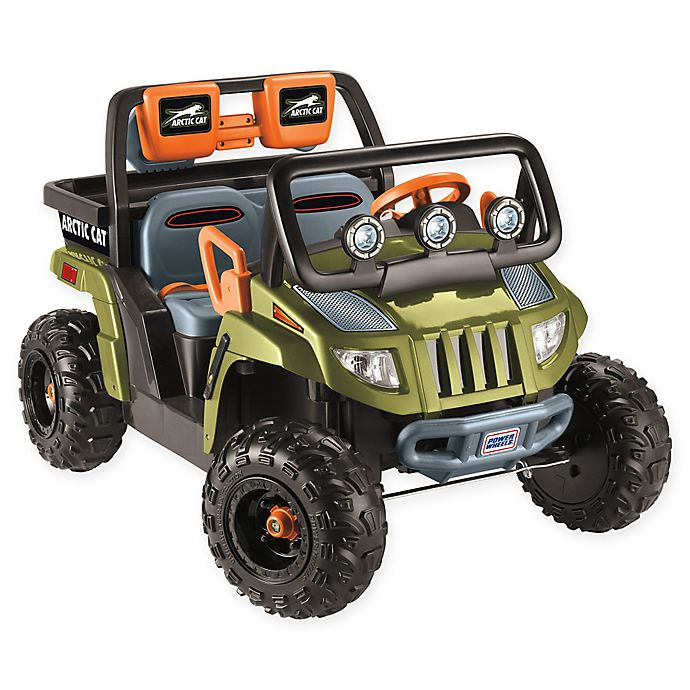 Fisher-Price® Power Wheels® Arctic Cat® 1000 Ride-On in Green | Bed
