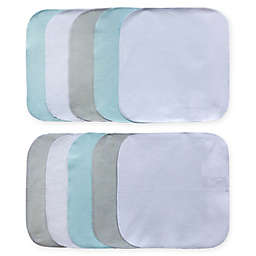 Neat Solutions® 10-Pack Whale Washcloths