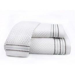 Nora Fingertip Towel in White