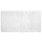 DKNY 24-Inch x 36-Inch Pure Braid Bath Rug in White