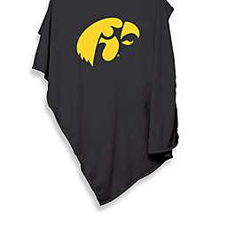 NCAA University of Iowa 54-Inch x 84-Inch Sweatshirt Throw Blanket