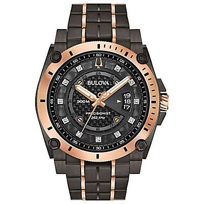 Bulova Precisionist Men's 46.5mm 98D149 Champlain Style Watch