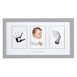 Pearhead® Babyprints 3-Opening 4-Inch x 6-Inch Picture Frame