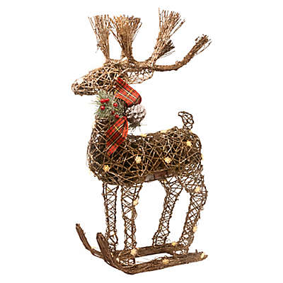 Holiday Wired Light-Up Reindeer Potpourri