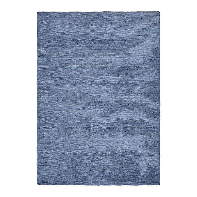 Alternate image 1 for Bee & Willow™ Home Fireside Jute Braided 5' x 7' Area Rug in Indigo