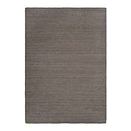 Bee & Willow™ Home Fireside Jute Braided 5' x 7' Area Rug in Charcoal