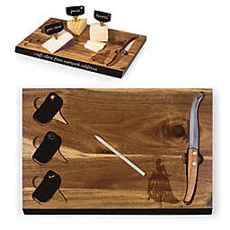 Picnic Time® Disney Cinderella Delio Acacia Cheese Board & Tools Set