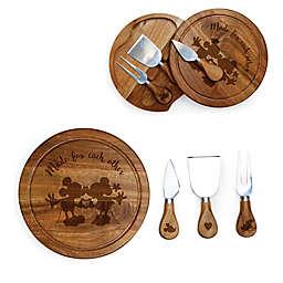 Picnic Time® Disney Mickey & Minnie Acacia Brie Cheese Board & Tools