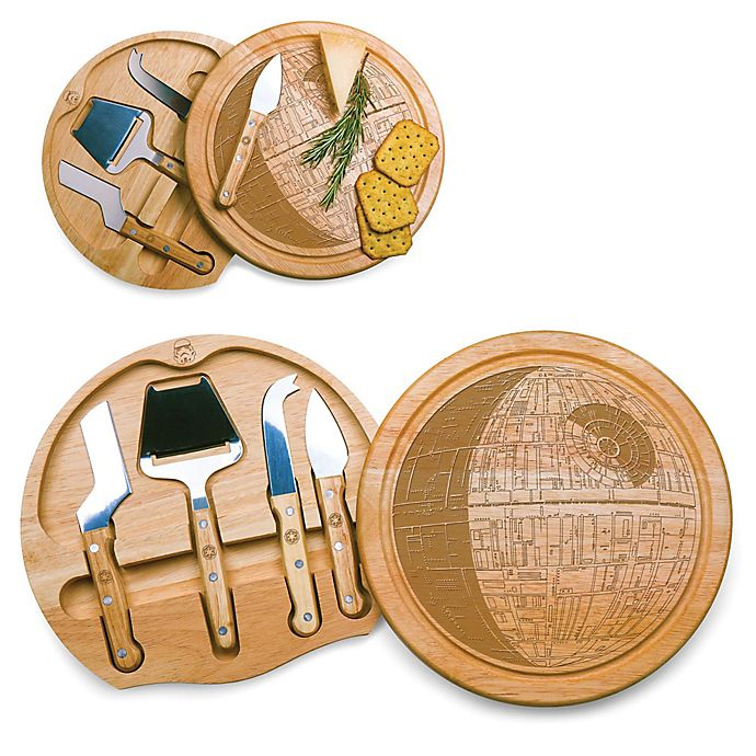 Alternate image 1 for Picnic Time® Star Wars Death Star Circo Cheese Board & Tools Set