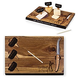 Picnic Time® Disney Ratatouille Delio Acacia Cheese Board & Tools Set