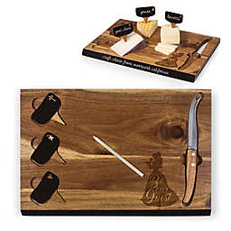 Picnic Time® Disney Beauty & the Beast Delio Acacia Cheese Board & Tools Set