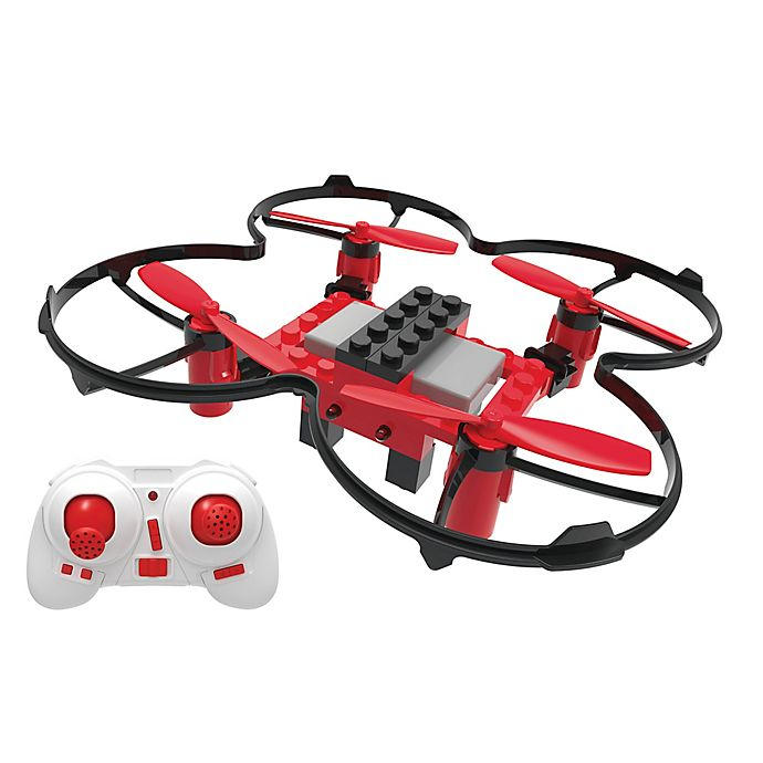 Alternate image 1 for XDrone DIY Drone with Auto Landing, Auto Takeoff and Auto Hover in Red