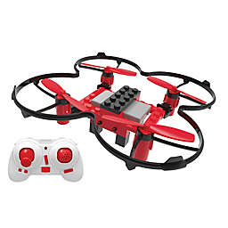 XDrone DIY Drone with Auto Landing, Auto Takeoff and Auto Hover in Red