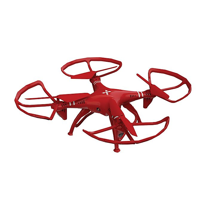 Alternate image 1 for XDrone Play WiFi Drone in Red