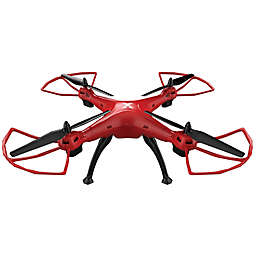 XDrone XL with Auto Landing and Auto Takeoff in Red