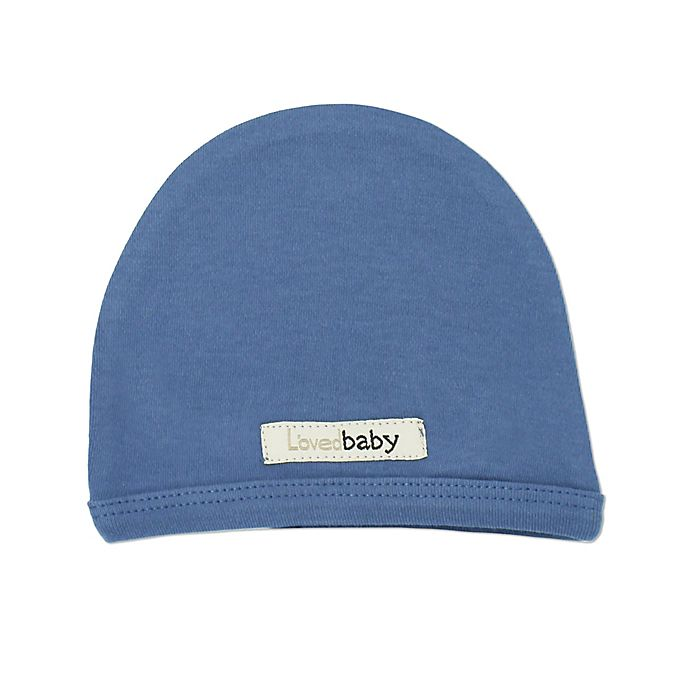 Alternate image 1 for L'ovedbaby® Organic Cotton Cute Cap in Slate