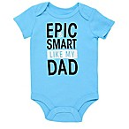 Baby Starters® Size 3M Epic Dad Short Sleeve Bodysuit in Blue