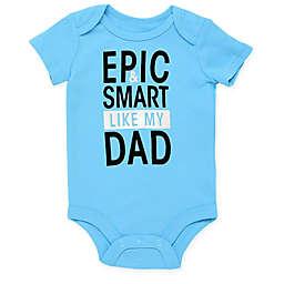 Baby Starters® Epic Dad Short Sleeve Bodysuit in Blue
