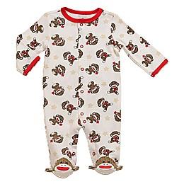 Baby Starters® Sock Monkey Footie