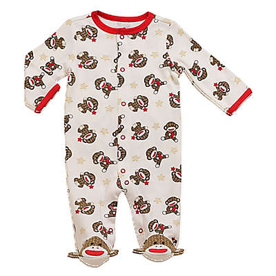 Baby Starters® Sock Monkey Footie