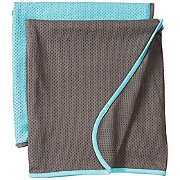 Baby K'tan® 2-Pack Swaddle Blankets in Teal/Charcoal