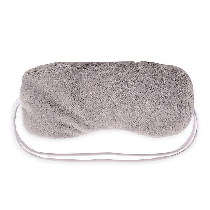 Alternate image 1 for Carex Home Microwaveable Lavender Relaxation Eye Mask in Grey