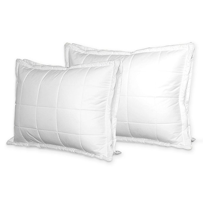 Alternate image 1 for Swiss Comfort Quilted Bed Pillow