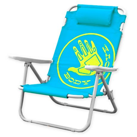 Buy Body Glove 5 Position Beach Chair In Ocean Blue From