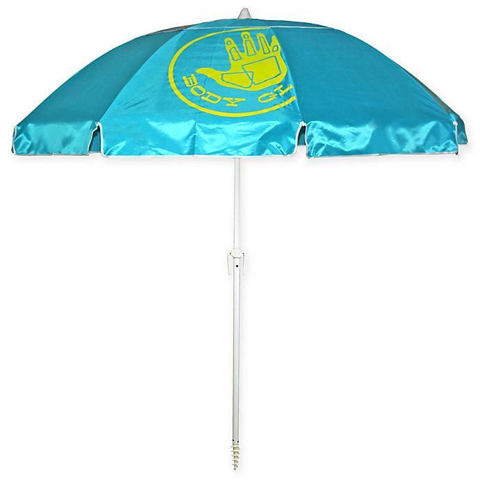 Alternate image 1 for Body Glove 7-Foot Beach Umbrella in Ocean Blue